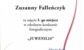 JUWENILIA 2016, rozstrzygnięcie konkursu 24 XI 2016 r.
