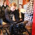 Wycieczka uczniów klas pierwszych Technikum Cyfrowych Procesów Graficznych do Muzeum Drukarstwa iPiśmiennictwa wGrębocinie