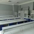 Zmodernizowane laboratorium chemiczne