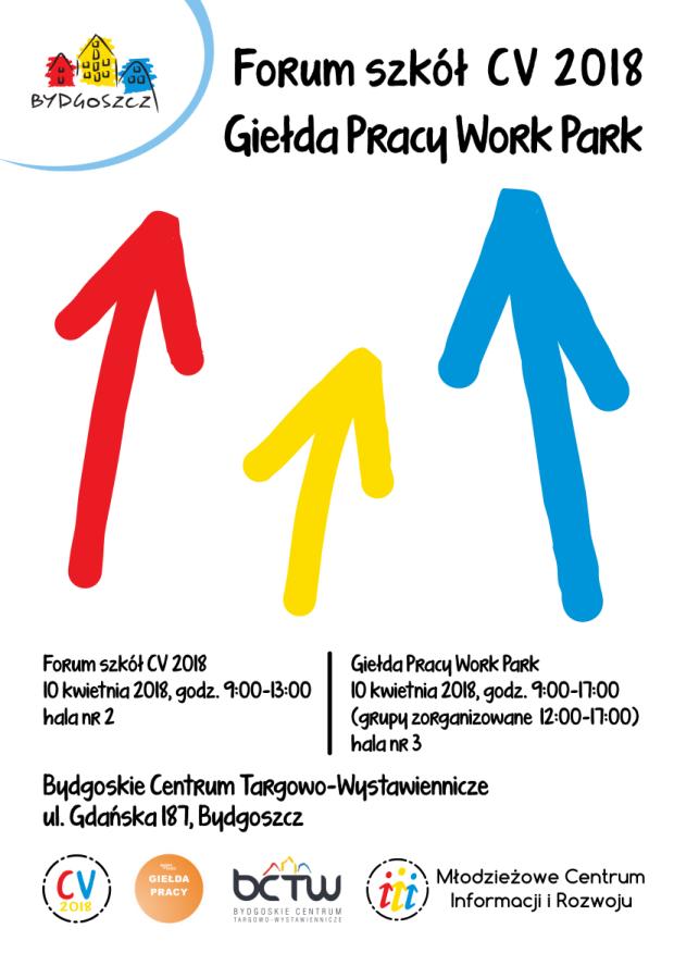 Plakat Forum CV2018 i Giełda Pracy wersja do inter